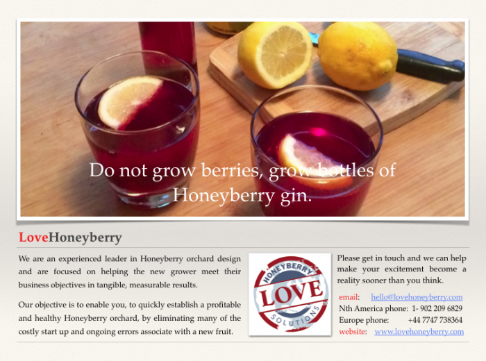 Berry favourable demographics